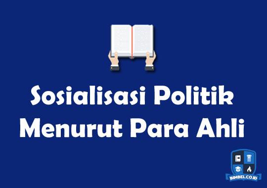 Sosialisasi Politik Menurut Para Ahli